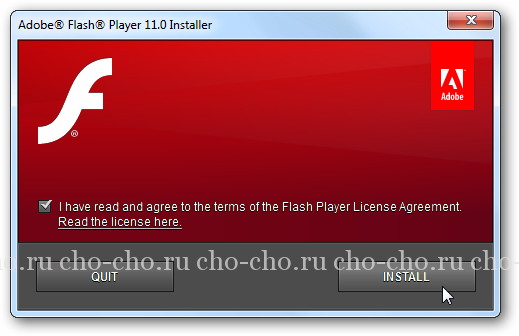 обновить adobe flash player для opera